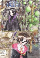 Harry Potter VS Green Bubbles by Moony-sama