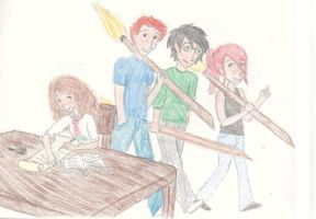 After Quidditch Practice by MissySerendipity