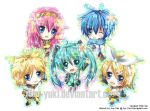 Vocaloid Chibi Set by Juu-Yuki