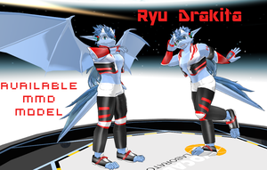 Ryu Drakita MMD Model by ryuDrakita