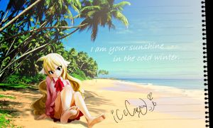 I am your sunshine in the cold winter--Mavis by icecream80810