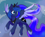 Moon in Horse by Lustrous-Dreams