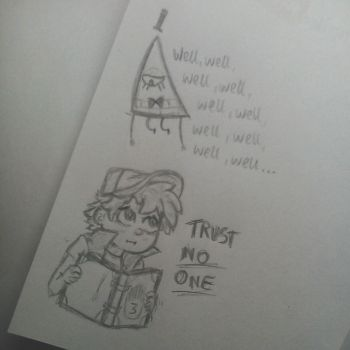 Gravity Falls scribbles by Cat-with-rifle