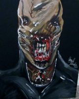 hellraiser chatterer painting by AmandaPainter87