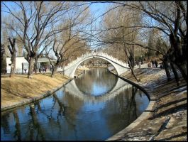 Beijing Bridge by amyhooton