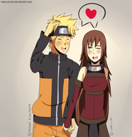Naruto x Akiko - AT with lovelychu by vaniIIa-chan