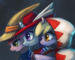 Filly mages by Raikoh-illust