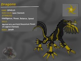 Dragon Booster:Tainted Gold-Ciphelus by BlackDragon-Studios