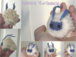 Felted Yuramon by xxNostalgic