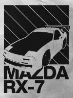 RX-7 Poster by Mumakil
