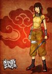 the female fire ninja by feng-gao-long