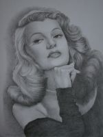 Rita Hayworth by Yakhovskaya