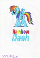 MLP Rainbow Dash! :D by Dolpgirl