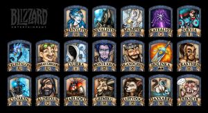 Blizzard 2014 Badges by Noxychu