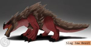 Day 127: Slag Jaw Beast by Jadenyte