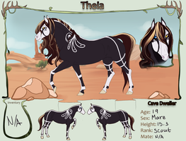 TWW| Theia|Scout|Mare|Cave Mustangs by Shinju-Tsukuda