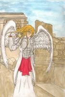 The Archangel by MOURNING-SKY