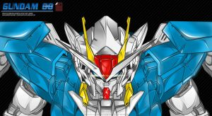Gundam Double 0 by istian18kenji