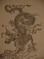 Chinese Dragon by The-Human-Abstract91