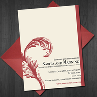 Wedding Invitation by cardboardmonet