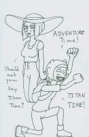 Titan Time! by zerOtodona