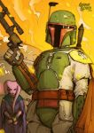 Star Wars Illustrated ESB: BOBA FETT by grantgoboom