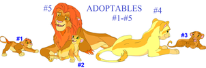 TLK Adoptables 1 ALL SOLD!!! by narutard277