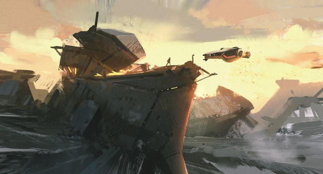 Outpost by Hideyoshi