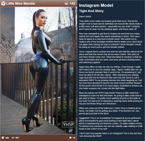 Instagram Model: Tight and Shiny by bikast