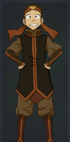 Aang- Fire Nation outfit by Fenchan