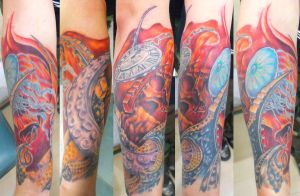 arm from hell by ODIETATTOO