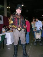 Steampunk Male by FairieGoodMother
