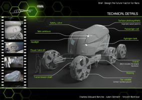 Tractor for Mars Elements by Vincent-Montreuil