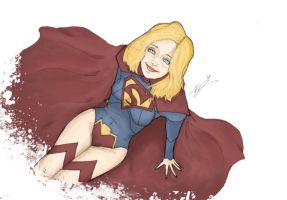 New 52 Supergirl by Ev-Jones