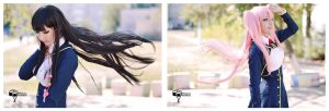 Flying hair by Katherin-Wheel