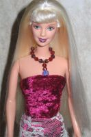 velvet lace Barbie dress pic 2 by prettysewingmachine
