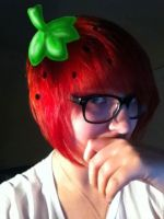 Ima Strawberry! by underneath-the-paint