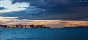 Zadar under the clouds by ivancoric