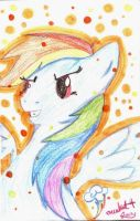 Rainbow Dash by orcakat4