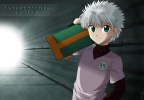 Examinee 99 - Killua by LauraPaladiknight