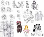 Sketch dump by Pencil-Only
