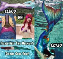 Please Help This Little Mermaid! by woot859