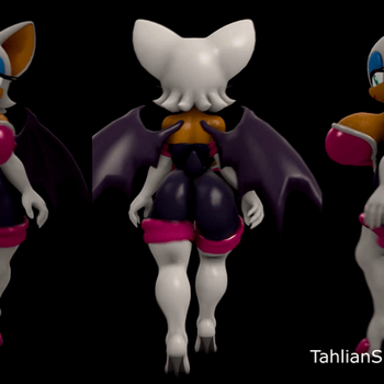 Rouge Walk Cycle updated by TahlianSFM