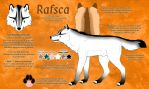 Rafsca Reference Sheet by Crazdude