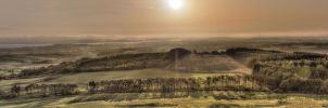 Forth Valley Sunrise HDR by Spyder-art
