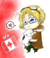 FINISHED REQUEST #9: Canada from Hetalia! by TreyStrider
