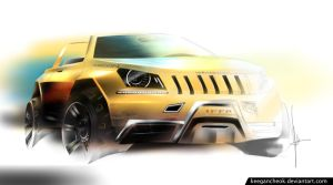 Jeep Wrangler concept by keegancheok