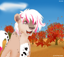 Autumn leaves - point commission by M-WingedLioness