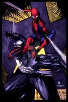 Spidey and Venom by Adi Granov by StephenSchaffer
