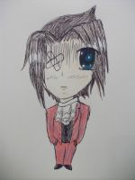 Chibi Edgeworth. by ICannotDrawToSaveMe